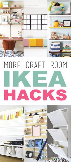 More Craft Room IKEA Hacks