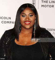 Jazmine Sullivan is looking fab in our statement earrings at the 7th Annual ESSENCE Black women in Music - in honor of Black History Month. #DoriCsengeri #JazmineSullivan #essence #blackhistorymonth #statement #earrings #fashion #accessories