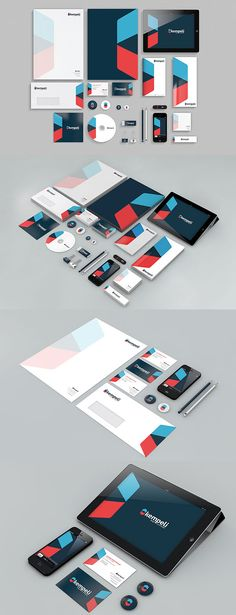 Identity design : Branding is an important aspect for any business. The key to successful business is branding. If you want your customers to remember you, try branding. In recent times most of… Corporate Identity Design, Collateral Design, Stationary Design, Brand Identity Design, Identity Branding, Brand Design, Visual Identity, Logo Design, Web Design