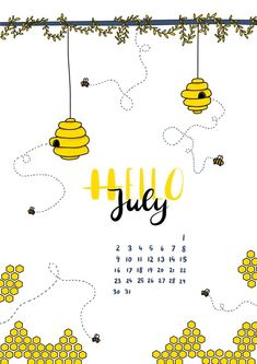 18 Creative Bullet Journal Pages for July -