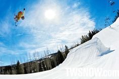 Snowmass is known to have a way sick community and four rad parks, perfect for a rider looking to progress.  | Blake Axleson. Snowmass, Colorado PHOTO: AARON DODDS | Top 10 Snowboard Parks of 2012-2013 | Resort Poll | TransWorld SNOWboarding