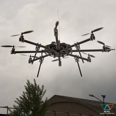 Octofly A3500 UAV multirotore in test
