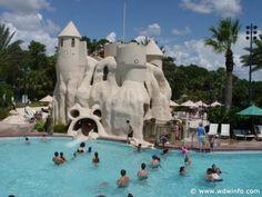Disney's Old Key West Resort. Coolest slide, want to take my grandchildren here.