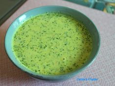 Carole's Chatter: Broccoli Soup (with a little carrot) Broccoli Soup, Carrots, Ethnic Recipes, Food, Essen, Broccoli Soup Recipes, Carrot, Meals, Yemek