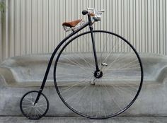 Churchill Messenger Bike - a fully hand-built scaled-down version of the original fixed gear bike – the Penny Farthing of the 1800s, a.k.a. The Bone Shaker.