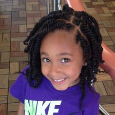 Embrace your afro-textured hair and take better care of it too with these protective kinky twists hairstyles for all lengths, cuts, and color tehcniques! Lil Girl Hairstyles, Natural Hairstyles For Kids, Kids Braided Hairstyles, Afro Hairstyles, Black Women Hairstyles, Natural Hair Styles, Protective Hairstyles, Hair Twist Styles, Kid Braid Styles