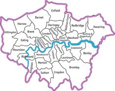 London: Map of all London boroughs >> See the Deals!