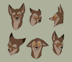 Anubis expressions by randybishopart.deviantart.com on @deviantART ★ Find more at http://www.pinterest.com/competing/