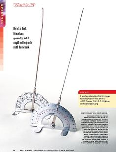 Used in the 1950s, the General Electric X-ray Corporation angle aligner aided R.T.s in precise positioning for skull radiographs. Learn more about this device in the December 2011/January 2012 issue of ASRT Scanner.