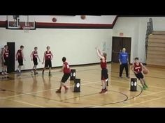 Dribble Knockout - Great Drill for Dribbling and Shooting - YouTube