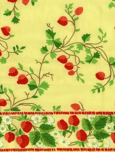 Devonshire by Brunschwig and Fils. Hand printed on cotton. Mid 20th century.