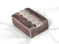 Ring Box Ring Bearer Pillow Ring Bearer Box by GregolinoWedding, €28.00