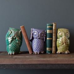 Cute and quirky owl accessories from Rose & Grey interiors .