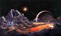"""Visions of Space by David A. Hardy 