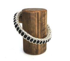 Wood Jewelry Display Bracelet Stand 3.5-inch by ArrayandDisplay