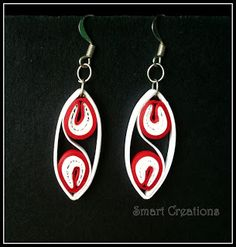 Smart Creations: My Quilled Earrings...