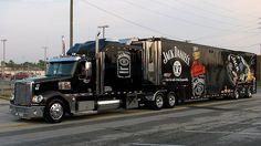 Jack Daniels, Freightliner Coronado, NASCAR, Transporter, Hauler