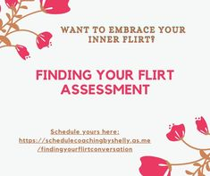 FLIRTING FUN 101 Hey, Girl. Here is your chance to improve in flirting. We will look at your challenges and goals for flirting during this 90-minute call. Visit me on Facebook to learn more. Info is under the Services tab. Financial Planner, Advertising Ads, Assessment, Flirting, Coaching, Finding Yourself, Relationship, Hey Girl, Learning