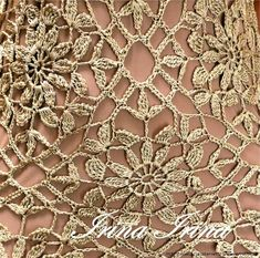 People who like this Love Crochet, Crochet Motif, Beautiful Crochet, Irish Crochet, Crochet Doilies, Crochet Lace, Crochet Stitches, Crochet Patterns, Shape Patterns