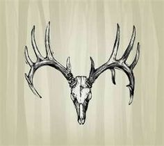 deer tattoos - Bing Images I think something like this would be good as a tribute to my Grandfather.