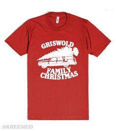 Griswold Family Vacation (vintage) | Vintage Griswold Family Vacation shirt just in time for christmas! #Skreened