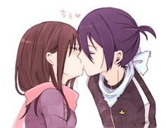 Yatori <3 I wished this could happened!