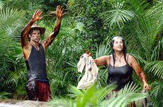 Nach der Dschungelprüfung mit dem Känguru des Grauens