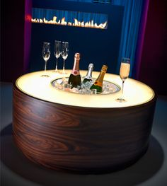 I want this Champagne Table!