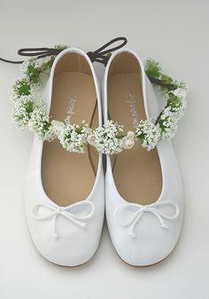 b42433210 Coronita campestre y bailarinas de piel blancas. www.donpisoton.com