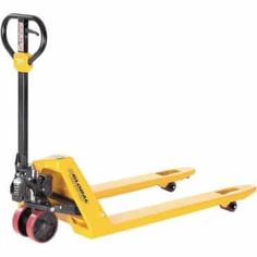 Global Industrial™ Best Value Industrial Duty Pallet Jack Truck 5500 Lb. Capacity 27 x 48 Forks Pallet Of Sod, Pallet Jack, Pallets For Sale, Free Pallets, Strip Curtains, Shipping Pallets, Buyers Guide, Trucks For Sale, Pallet Projects