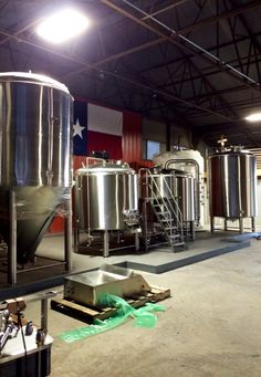 The brewhouse setup just after completion, almost there.