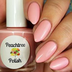 Soft peachy creme Opaque with 2 coats(1) 15ml bottle for $8.00OR(1) 7ml mini for $4.00photos courtesy of JustAGirlAndHerNails, GotNail and cdbNails143 on InstagramThank you Autumn, JayLynn and Cheyenne!