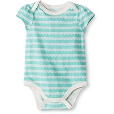Circo Newborn Girls' Bodysuits French Cream ($5) ❤ liked on Polyvore featuring baby, baby girl and baby girl clothes