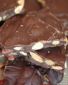 Easy Chocolate Almond Bark