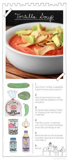 Tortilla Soup by The Vegan Stoner.  More at: TheVeganStoner.com