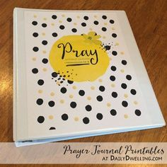 **Thank you for visiting!! An updated version of these Prayer Journal Printables can be found here!** This is an update of a post I did several years ago on my personalized prayer journal notebook.…