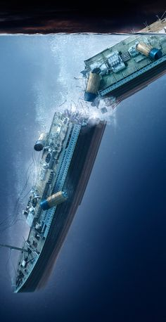 Working closely with James Cameron's team and National Geographic to create visuals for the 100 year anniversary of the sinking of the Titanic. Titanic Sinking, Titanic Movie, Rms Titanic, Titanic Boat, Titanic Photos, Bateau Titanic, Titanic Drawing, Titanic History, Ancient History