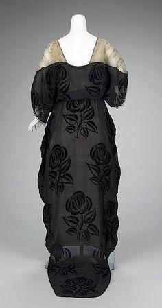 Evening dress 1912–14