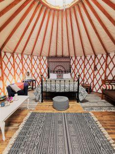 Luxury Yurt Glamping, Ireland