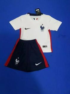 1c9b931fb 2016 Kids France White Soccer Jersey uniform
