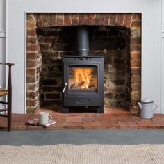 Solution 5 (S4) Solid Fuel Stove, Wood Fuel, Wood Burner, Home Living Room, Glass Door, Home Appliances, Traditional, Masonry Oven