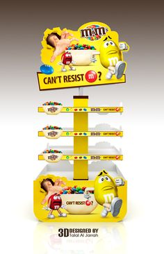 m&m's Stand on Behance