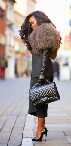 Fall Fashion 2015. Stunning work chic. ::M:: *Louboutin *Hermes