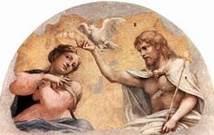 Affresco per l'abside di San Giovanni Evangelista.  1521
