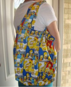 Simpsons Tote Bag by joanielovescrafty on Etsy, $18.00