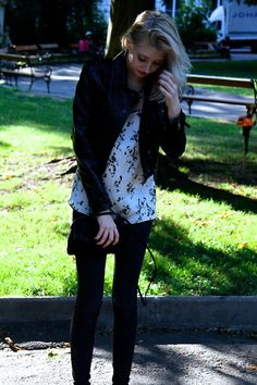 Burberry Jacket, Zara Top, Forever 21 Nakelace, Pepe Jeans Trousers