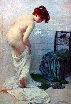 Radiant - The Bath Arturo Noci (1874 – 1953, Italian)
