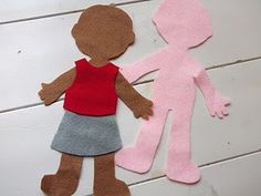 1000 images about clothing activities for preschool on for Felt dress up doll template