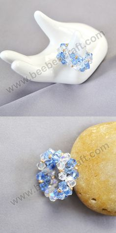 Glass beads have long history, significant in archaeology and jewelry making. Our cheap glass beads are rich in colors, shapes, categories and sizes. You will find unique beauty, charm and value in all these glass beads. Ring Making, How To Make Rings, Bee Crafts, Diy Rings, Jewelry Making Beads, Buy Cheap, Colored Glass, Making Ideas, Glass Beads