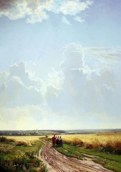 Shishkin Ivan - Noon. In the vicinity of Moscow. 200 Russian painters • download painting • Gallerix.ru